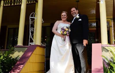 wedding at the inn