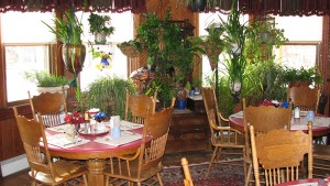 dining room at the inn