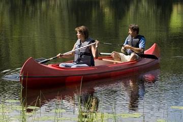 Canoeing At Colgate Lake