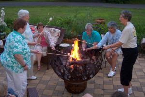 A Weekend Party at the Fairlawn